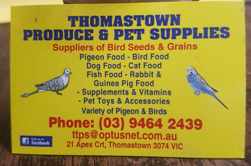 Welcome   Victorian Racing Pigeon Union